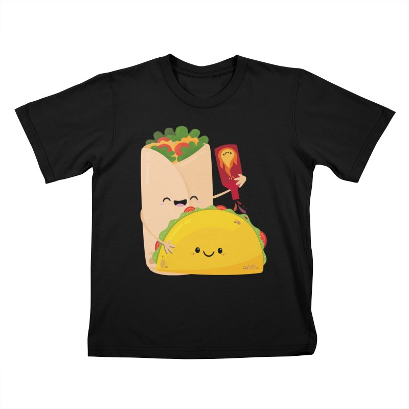 More Hot Sauce Please Kids T-Shirt by FunUsual Suspects T-shirt Shop