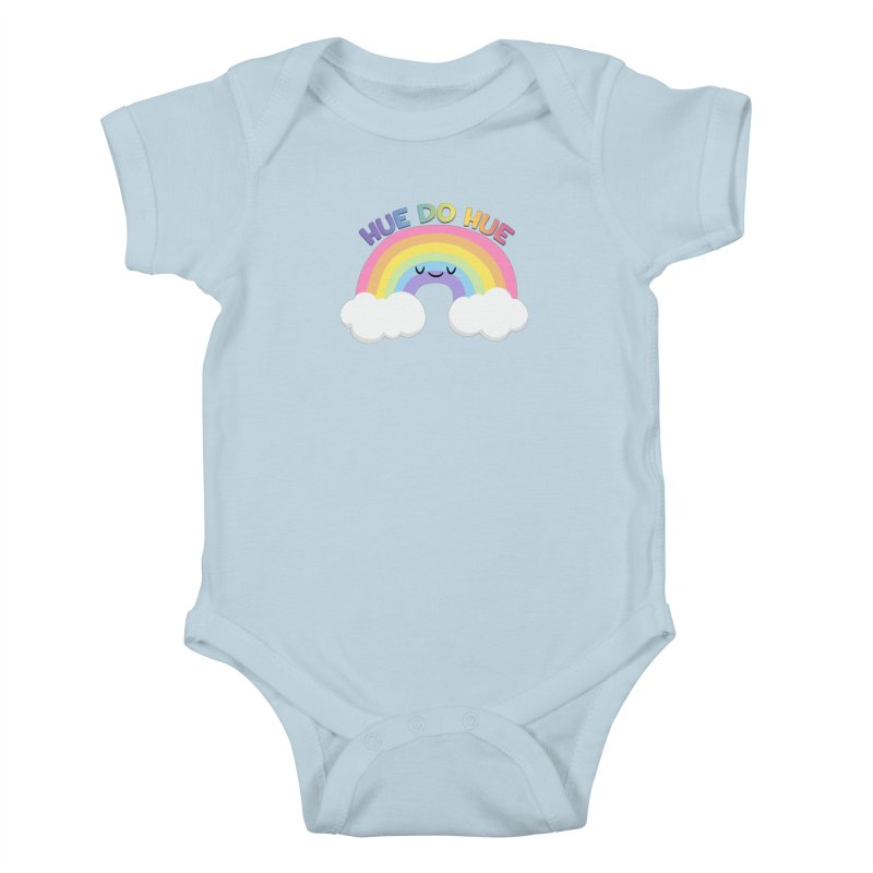 Hue Do Hue Kids Baby Bodysuit by FunUsual Suspects T-shirt Shop