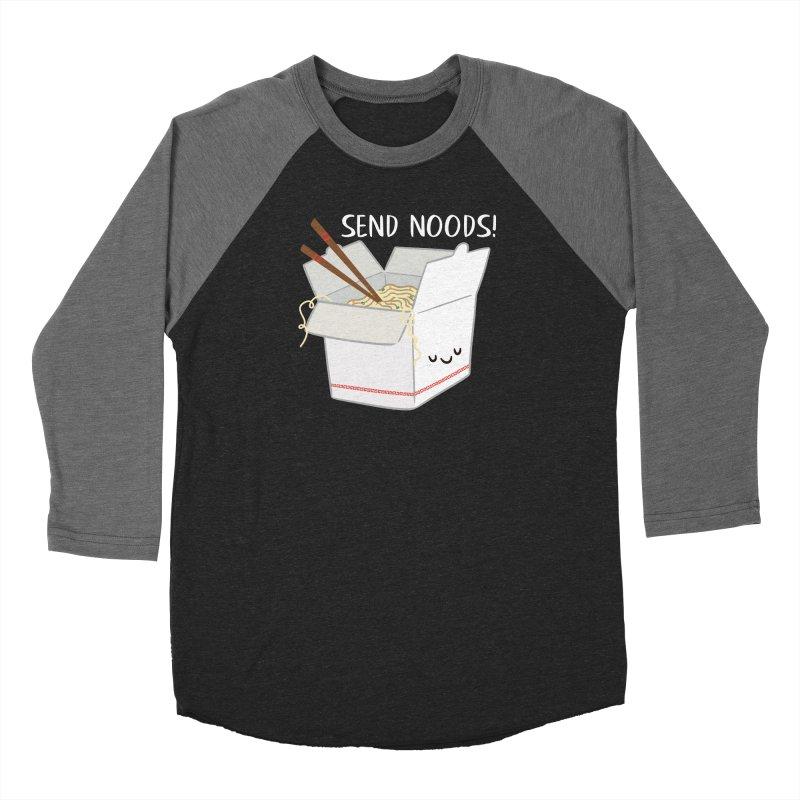 Send Noods Women's Longsleeve T-Shirt by FunUsual Suspects T-shirt Shop