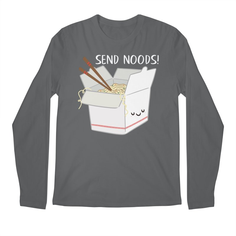 Send Noods Men's Longsleeve T-Shirt by FunUsual Suspects T-shirt Shop