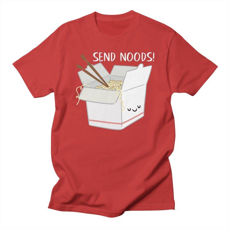 Send Noods Men's Regular T-Shirt by FunUsual Suspects T-shirt Shop
