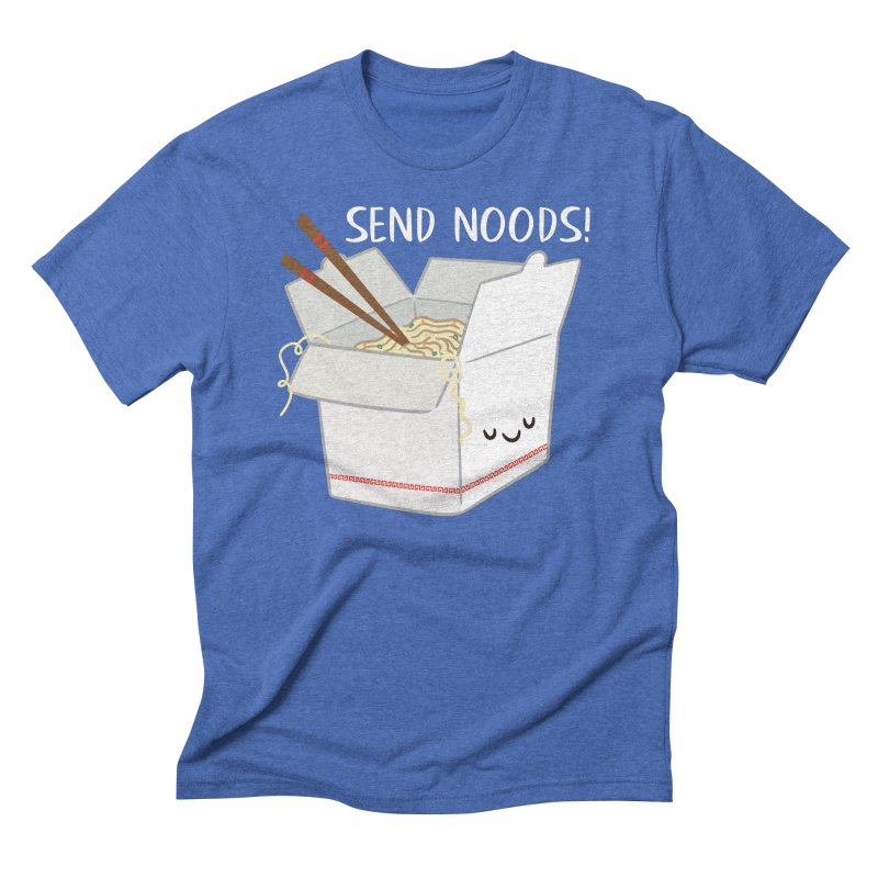Send Noods Men's T-Shirt by FunUsual Suspects T-shirt Shop