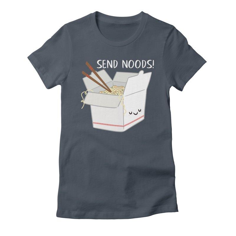 Send Noods Women's T-Shirt by FunUsual Suspects T-shirt Shop
