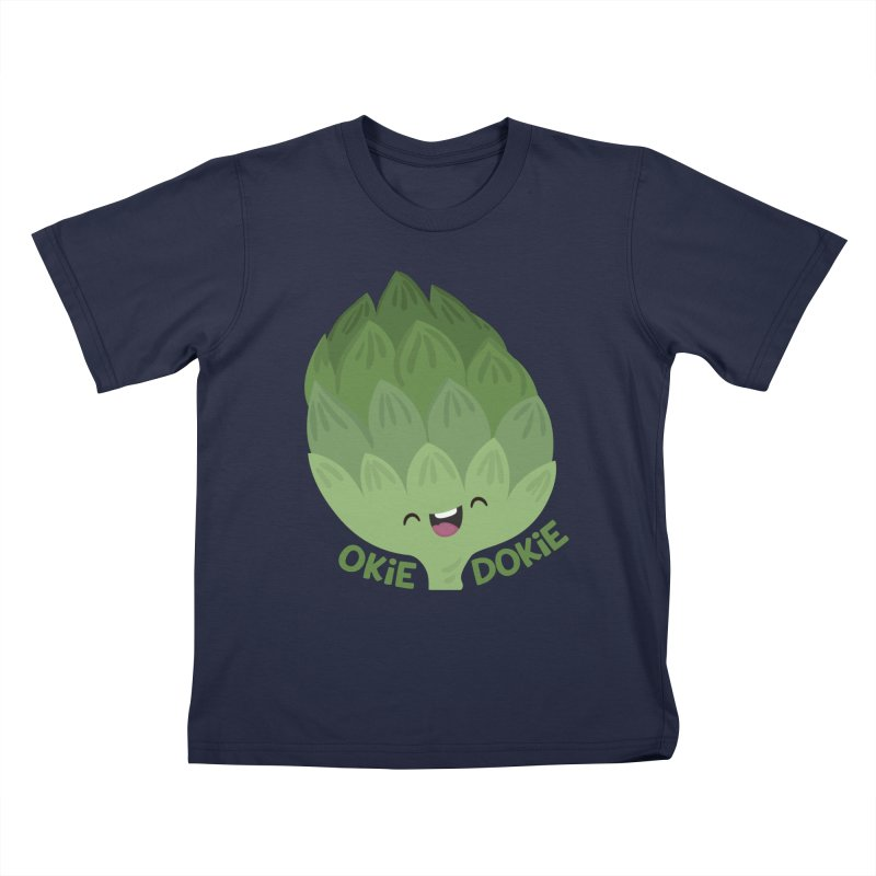 Okie Dokie Artichokie Kids T-Shirt by FunUsual Suspects T-shirt Shop
