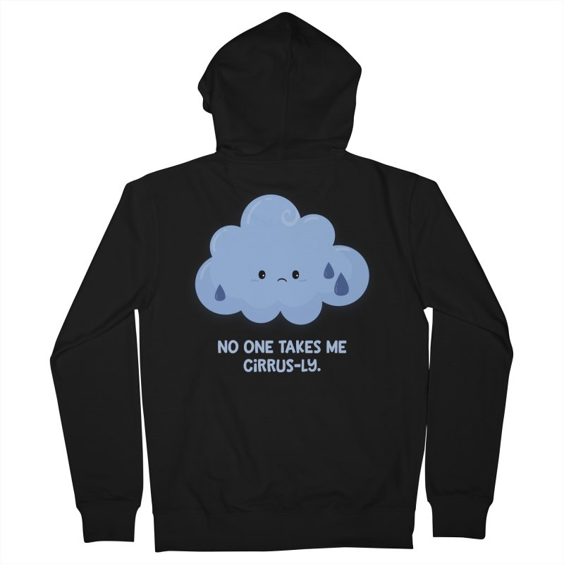 Absolutely No One Women's Zip-Up Hoody by FunUsual Suspects T-shirt Shop