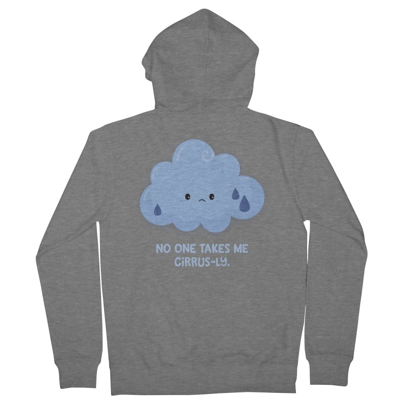 Absolutely No One Men's Zip-Up Hoody by FunUsual Suspects T-shirt Shop