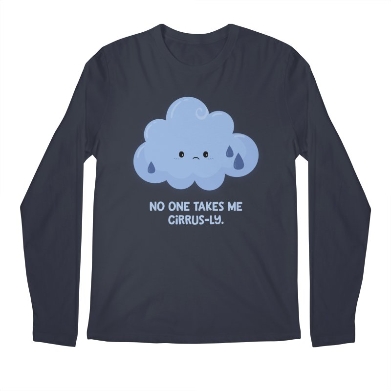 Absolutely No One Men's Longsleeve T-Shirt by FunUsual Suspects T-shirt Shop