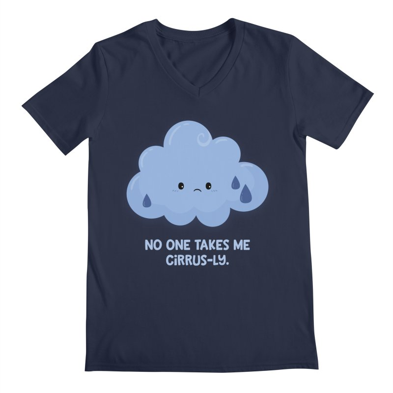 Absolutely No One Men's V-Neck by FunUsual Suspects T-shirt Shop