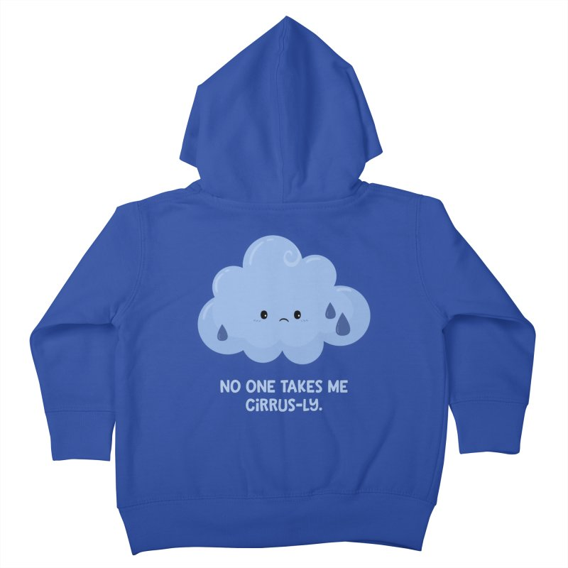 Absolutely No One Kids Toddler Zip-Up Hoody by FunUsual Suspects T-shirt Shop