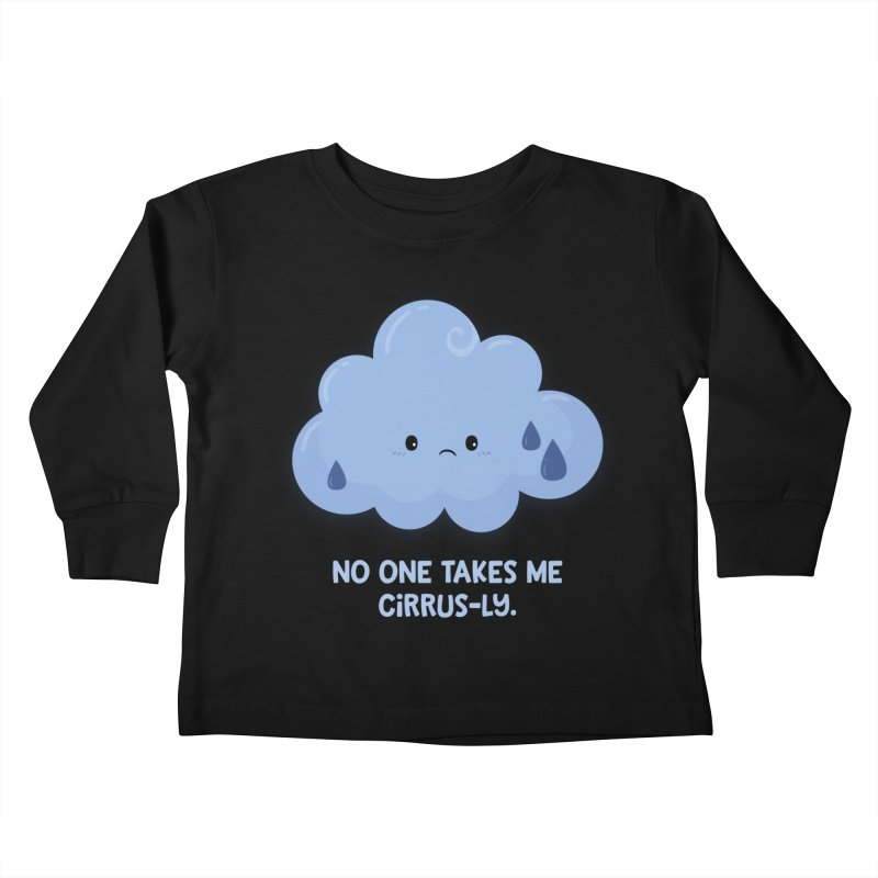Absolutely No One Kids Toddler Longsleeve T-Shirt by FunUsual Suspects T-shirt Shop