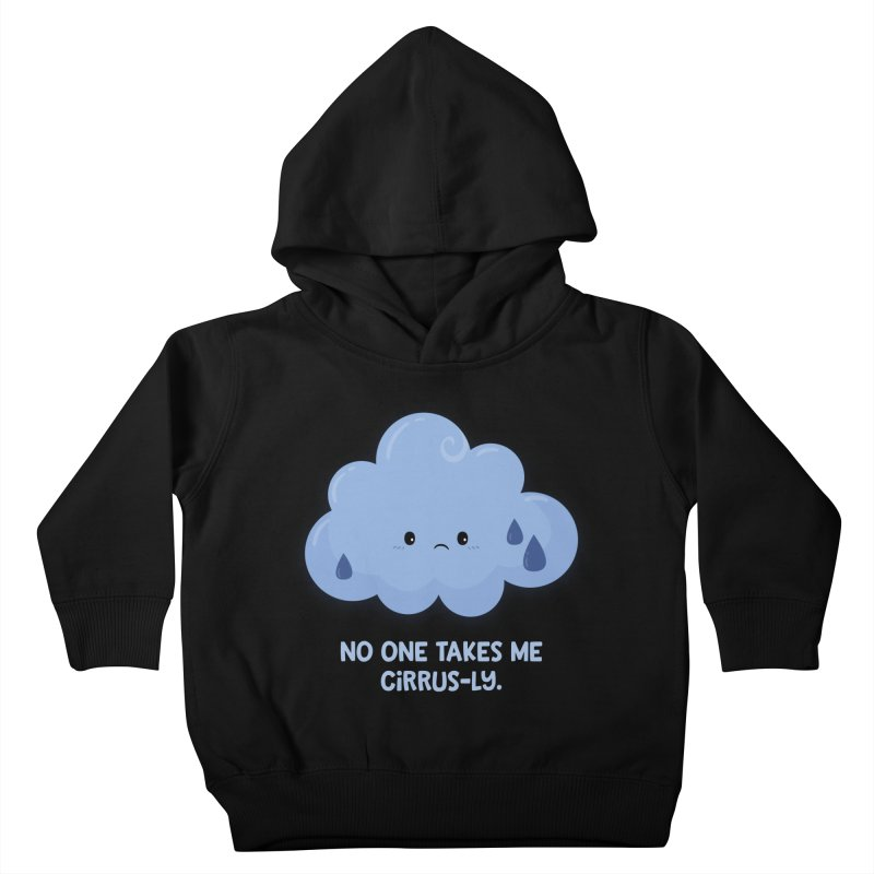 Absolutely No One Kids Toddler Pullover Hoody by FunUsual Suspects T-shirt Shop