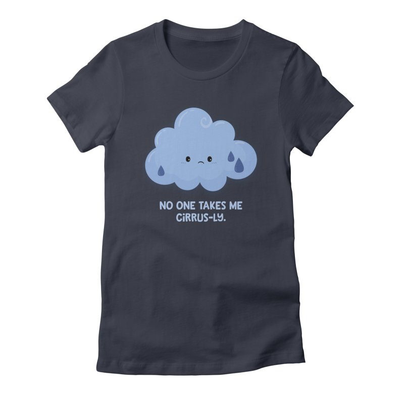 Absolutely No One Women's Fitted T-Shirt by FunUsual Suspects T-shirt Shop