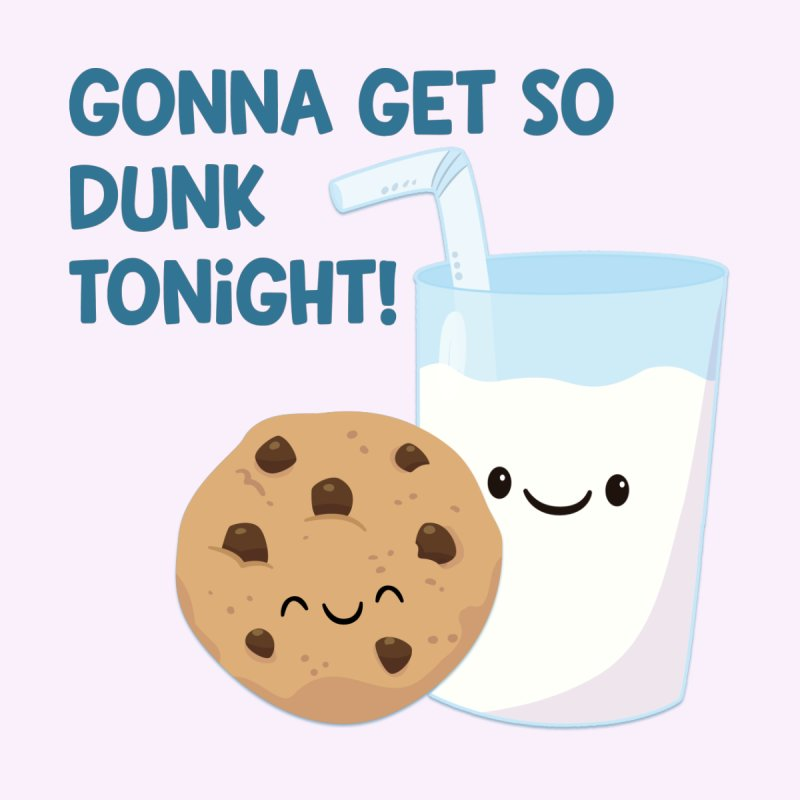 Gonna Get So Dunk Tonight! Men's T-Shirt by FunUsual Suspects T-shirt Shop