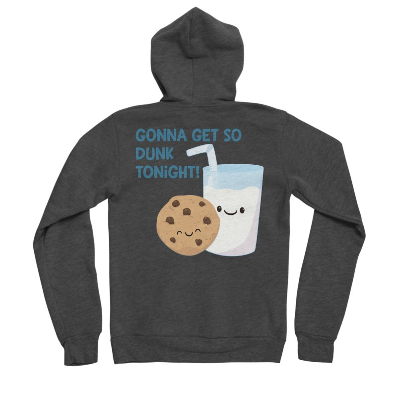 Gonna Get So Dunk Tonight! Men's Zip-Up Hoody by FunUsual Suspects T-shirt Shop