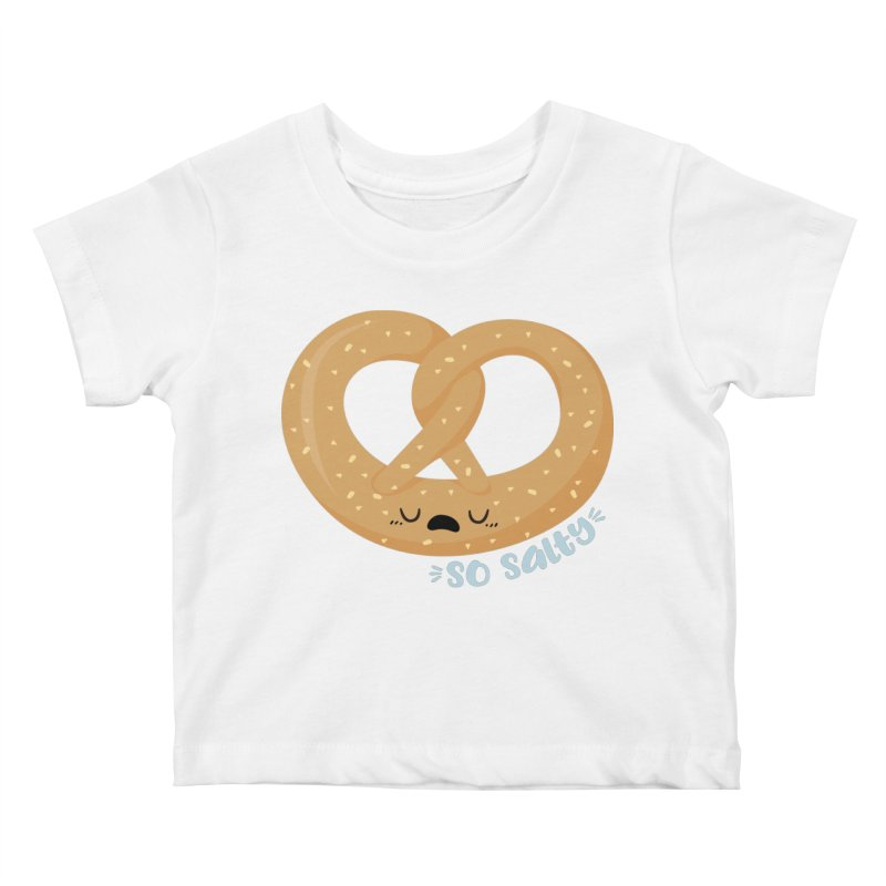 So Salty Kids Baby T-Shirt by FunUsual Suspects T-shirt Shop