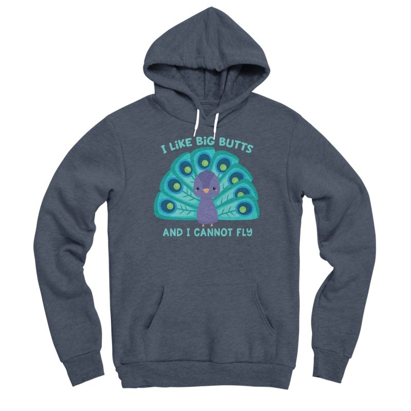 I Cannot Fly Men's Pullover Hoody by FunUsual Suspects T-shirt Shop