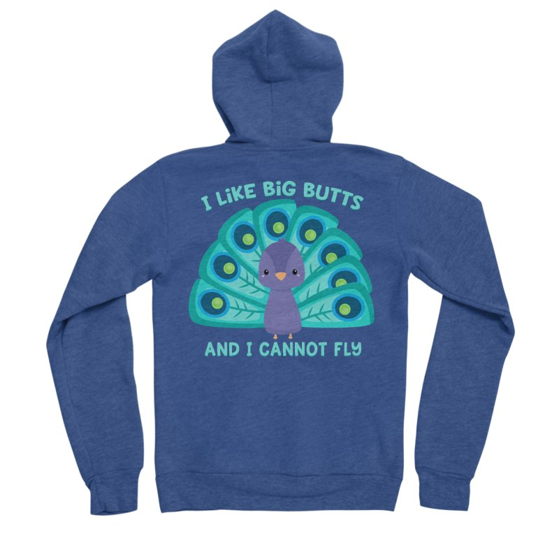 I Cannot Fly Men's Zip-Up Hoody by FunUsual Suspects T-shirt Shop