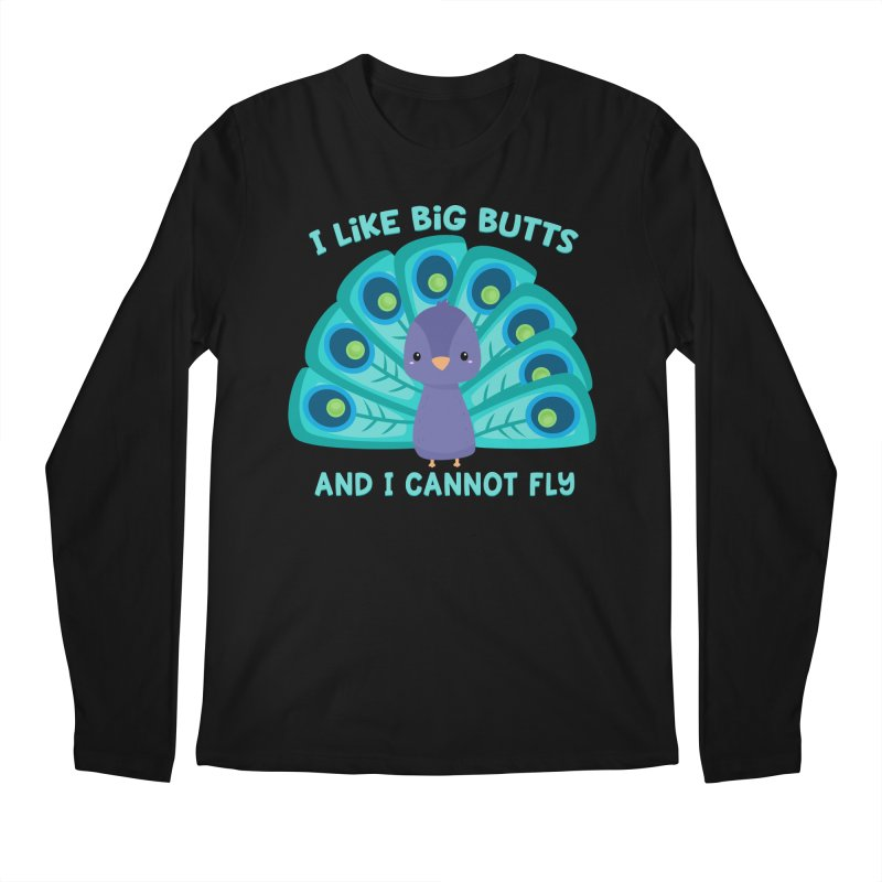I Cannot Fly Men's Longsleeve T-Shirt by FunUsual Suspects T-shirt Shop