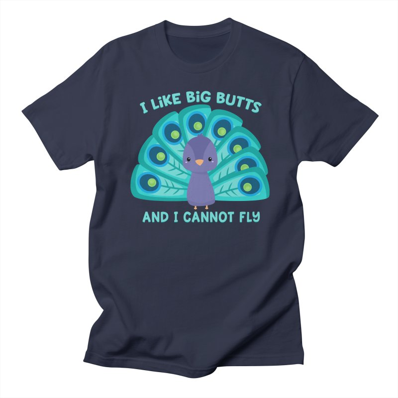 I Cannot Fly Men's Regular T-Shirt by FunUsual Suspects T-shirt Shop