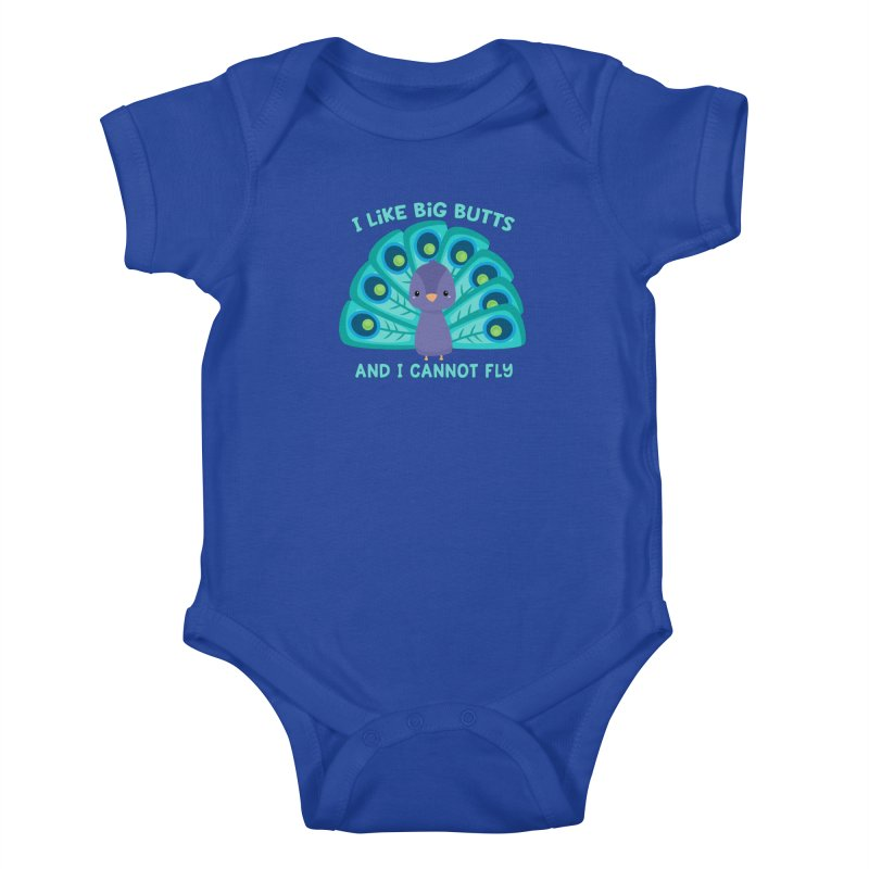 I Cannot Fly Kids Baby Bodysuit by FunUsual Suspects T-shirt Shop