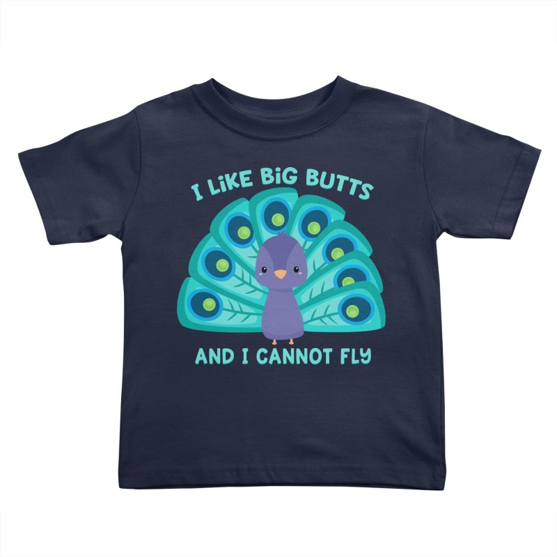 I Cannot Fly Kids Toddler T-Shirt by FunUsual Suspects T-shirt Shop