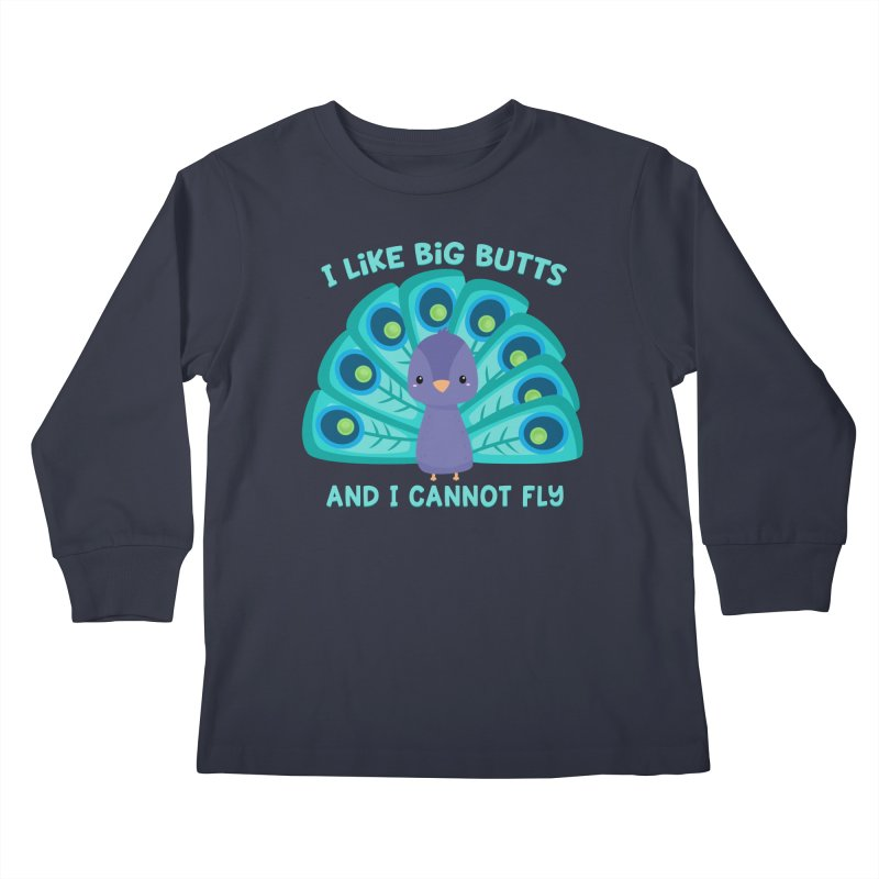 I Cannot Fly Kids Longsleeve T-Shirt by FunUsual Suspects T-shirt Shop