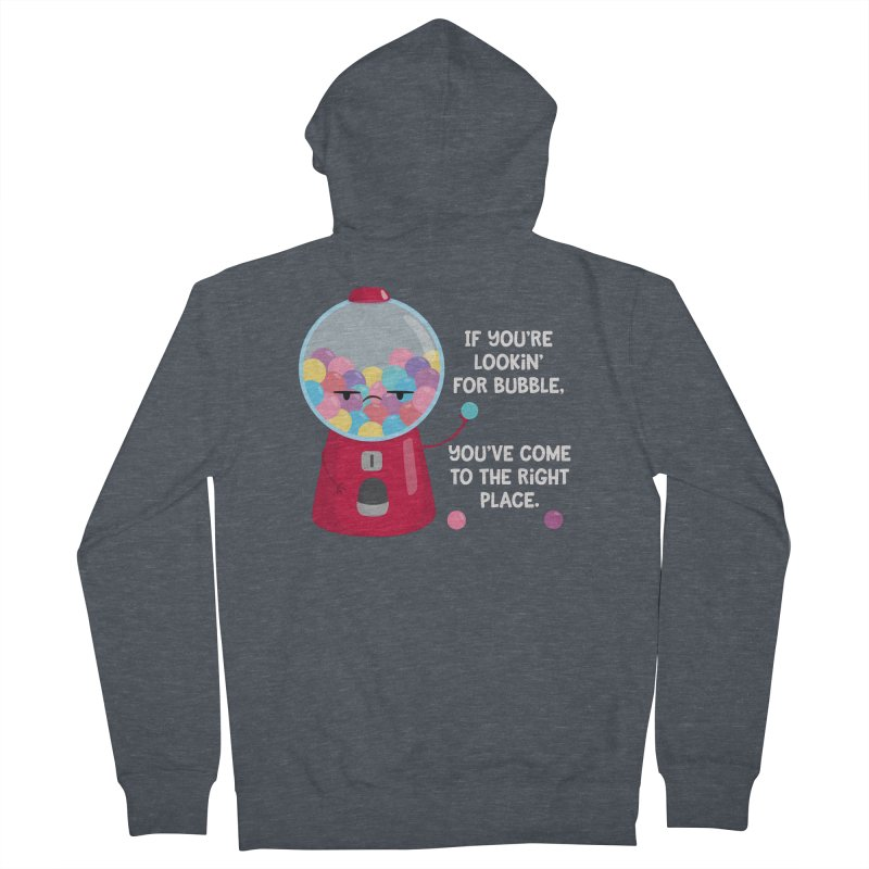 Looking for Bubble? Women's Zip-Up Hoody by FunUsual Suspects T-shirt Shop