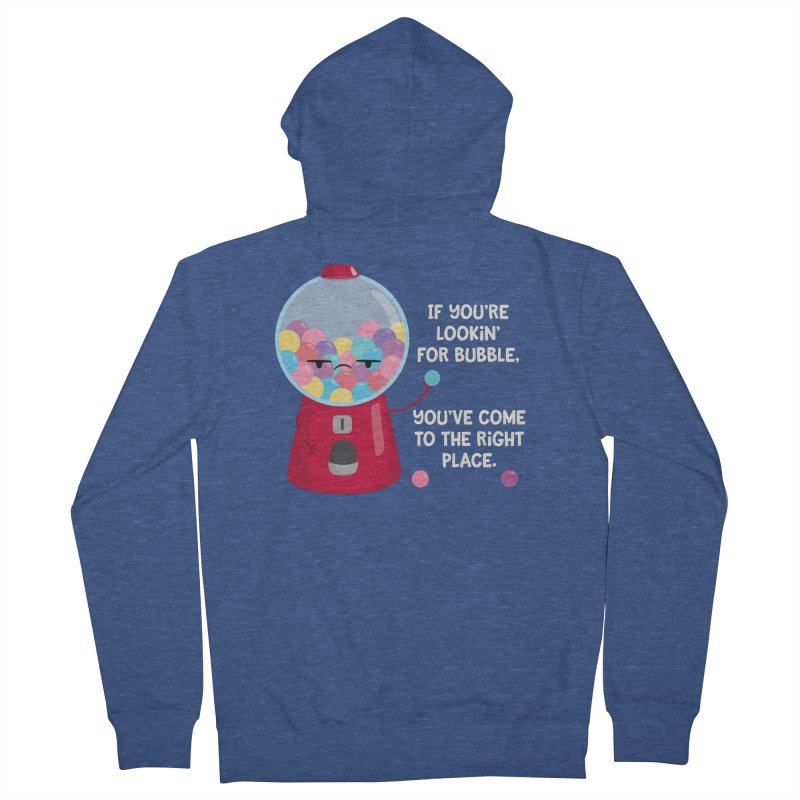 Looking for Bubble? Men's Zip-Up Hoody by FunUsual Suspects T-shirt Shop
