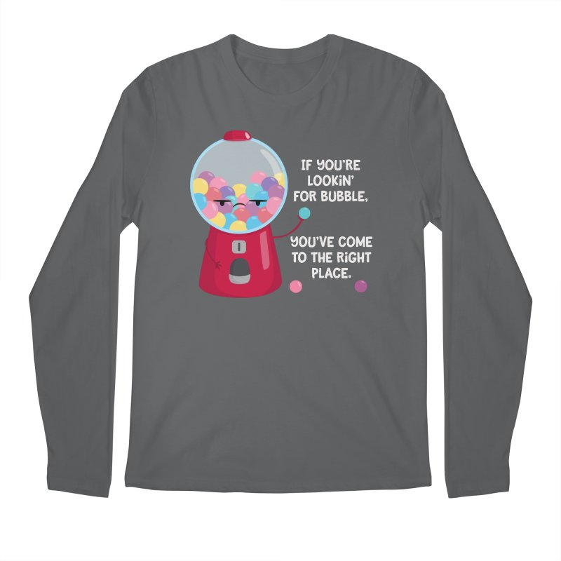 Looking for Bubble? Men's Longsleeve T-Shirt by FunUsual Suspects T-shirt Shop