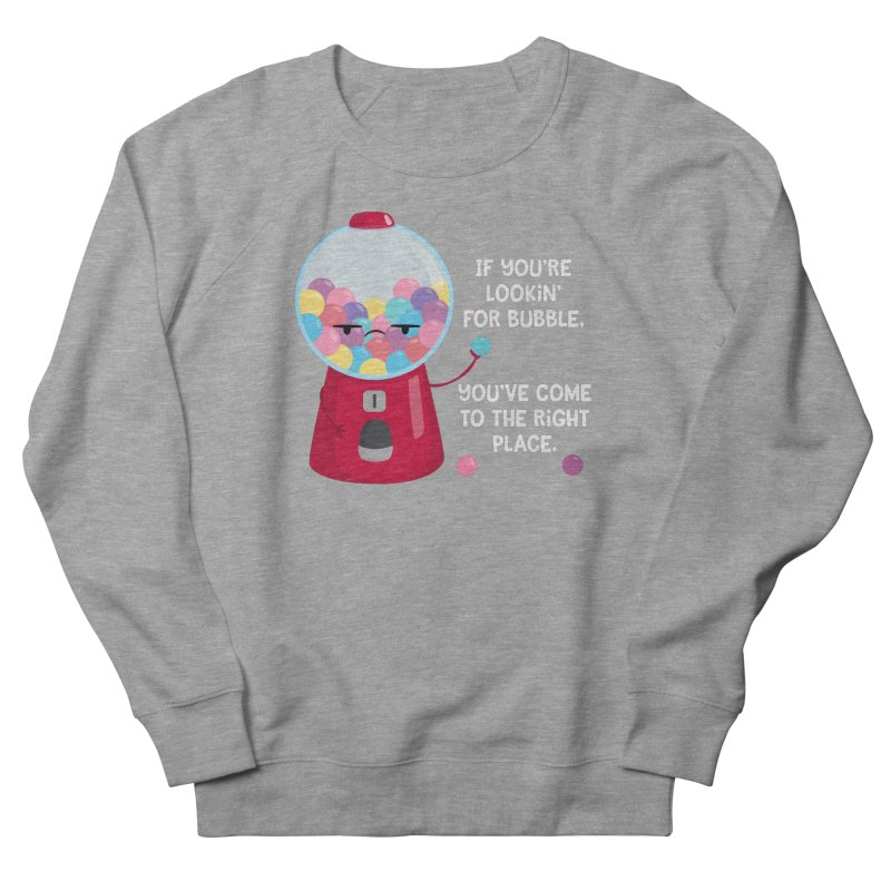 Looking for Bubble? Men's French Terry Sweatshirt by FunUsual Suspects T-shirt Shop