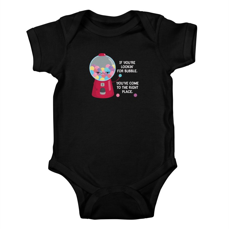 Looking for Bubble? Kids Baby Bodysuit by FunUsual Suspects T-shirt Shop