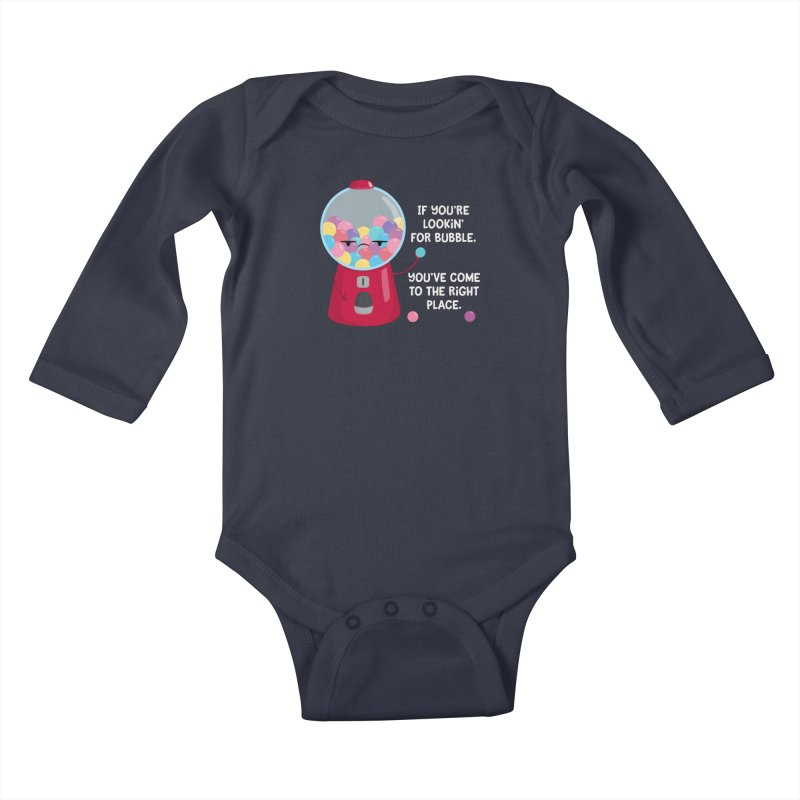 Looking for Bubble? Kids Baby Longsleeve Bodysuit by FunUsual Suspects T-shirt Shop