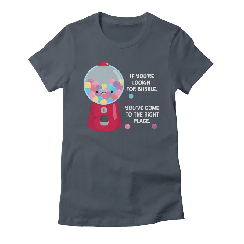 Looking for Bubble? Women's T-Shirt by FunUsual Suspects T-shirt Shop