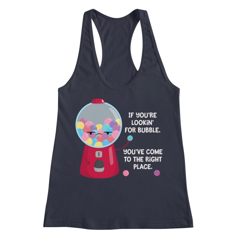 Looking for Bubble? Women's Racerback Tank by FunUsual Suspects T-shirt Shop