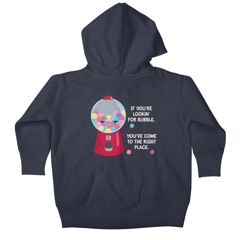 Looking for Bubble? Kids Baby Zip-Up Hoody by FunUsual Suspects T-shirt Shop