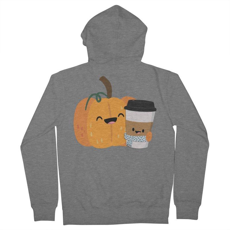#pumpkinspicelife Women's Zip-Up Hoody by FunUsual Suspects T-shirt Shop