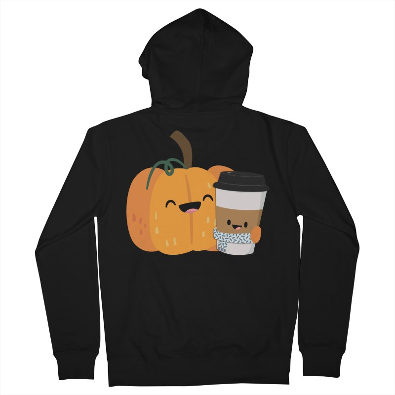 #pumpkinspicelife Men's Zip-Up Hoody by FunUsual Suspects T-shirt Shop