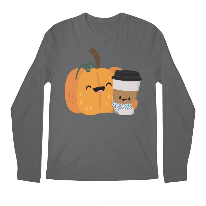 #pumpkinspicelife Men's Longsleeve T-Shirt by FunUsual Suspects T-shirt Shop