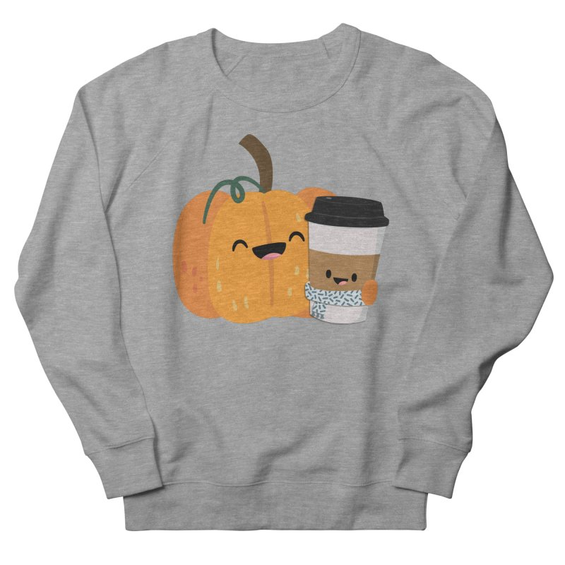 #pumpkinspicelife Women's French Terry Sweatshirt by FunUsual Suspects T-shirt Shop