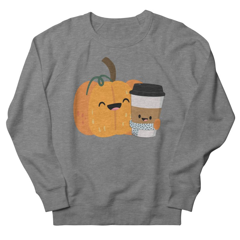 #pumpkinspicelife Men's French Terry Sweatshirt by FunUsual Suspects T-shirt Shop