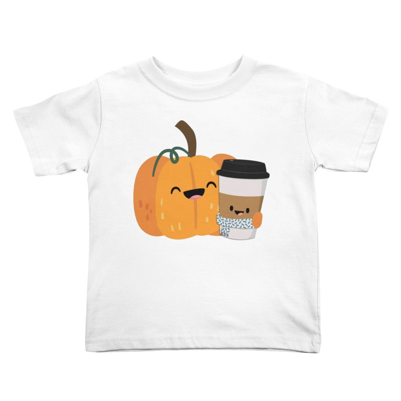 #pumpkinspicelife Kids Toddler T-Shirt by FunUsual Suspects T-shirt Shop