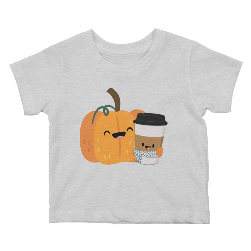 #pumpkinspicelife Kids Baby T-Shirt by FunUsual Suspects T-shirt Shop