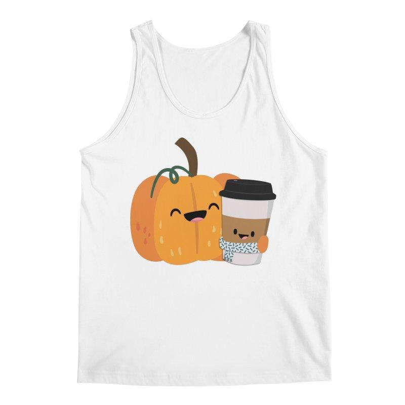 #pumpkinspicelife Men's Tank by FunUsual Suspects T-shirt Shop