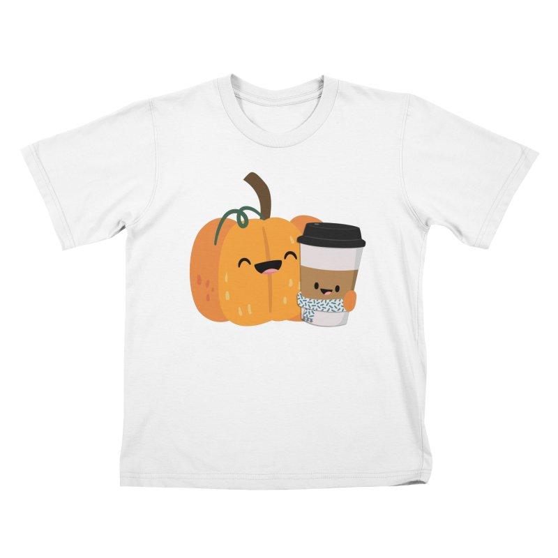 #pumpkinspicelife Kids T-Shirt by FunUsual Suspects T-shirt Shop