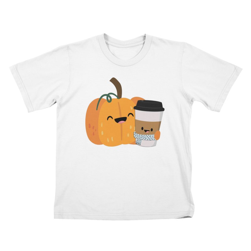 #pumpkinspicelife Kids T-Shirt by FunUsual Suspects T-shirt Shop