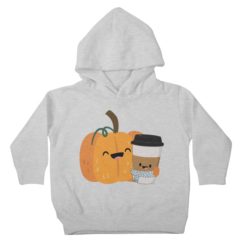 #pumpkinspicelife Kids Toddler Pullover Hoody by FunUsual Suspects T-shirt Shop