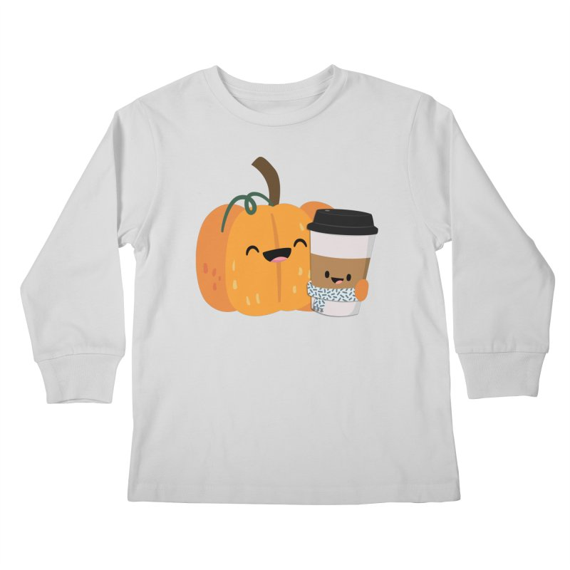 #pumpkinspicelife Kids Longsleeve T-Shirt by FunUsual Suspects T-shirt Shop