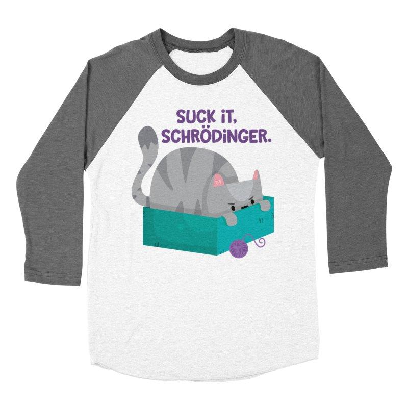 Suck it Schrödinger Women's Longsleeve T-Shirt by FunUsual Suspects T-shirt Shop