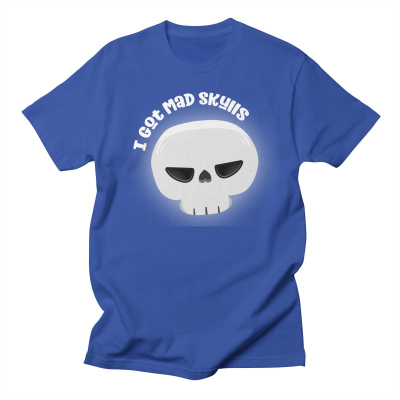 I Got Mad Skulls Men's Regular T-Shirt by FunUsual Suspects T-shirt Shop