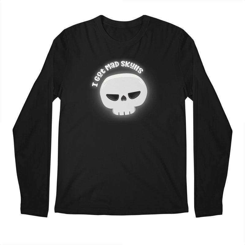 I Got Mad Skulls Men's Regular Longsleeve T-Shirt by FunUsual Suspects T-shirt Shop
